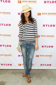 Guests at Nylon x Boss Orange Escape House with Keir Knight