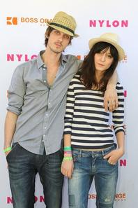 Guests at Nylon x Boss Orange Escape House with her love Keir Knight