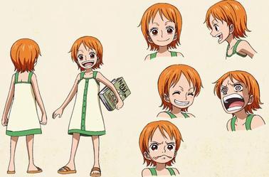 Nami Special Kokaishi no Namida to Nakama no Kizuna(character design)