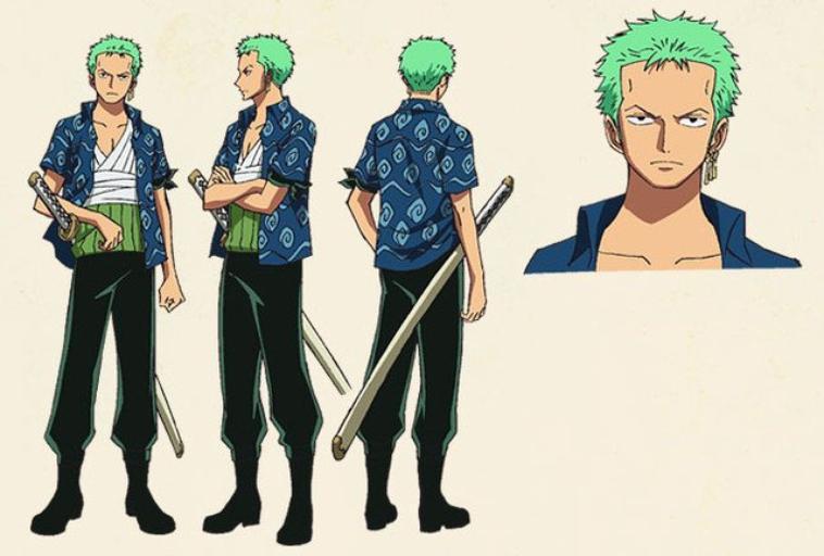 Nami Special Kokaishi no Namida to Nakama no Kizuna(character design) 3