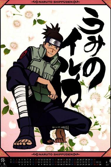 Naruto Calendrier 2013 :D