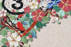 Numéro de Rue - Mosaique - Emaux de Briare -