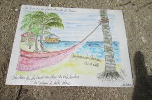 Arts postés -  Un Petit Message de Martinique.