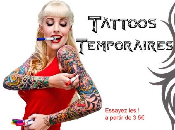 Tattoos Temporaires !!!
