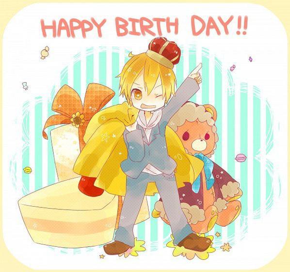 Joyeux anniversaire kida <3