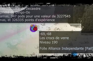 Exp Et Drop Du Percepteur