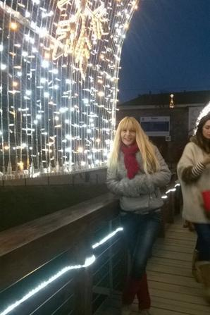 Christmas holidays in the citadel of my town