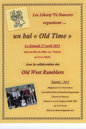 """Country """" Old Time """" 27 Avril 2013"""