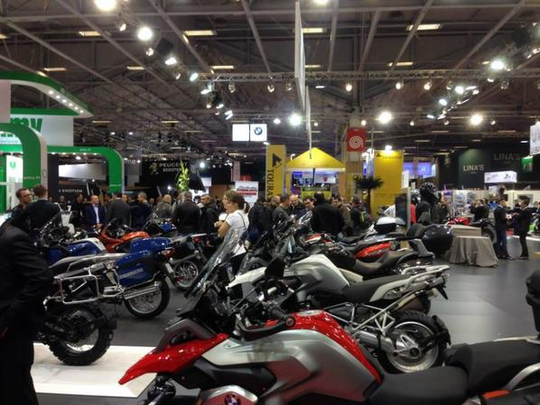 Salon moto de Paris 2013