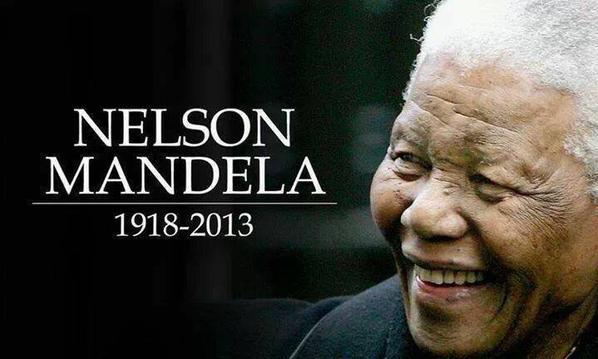 NELSON MANDELA R I P