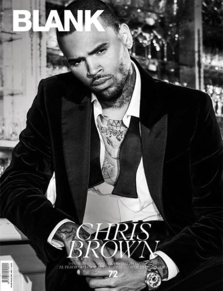 Chris pour Blank Magazine