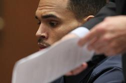Chris au tribunal ce Lundi 3 Février