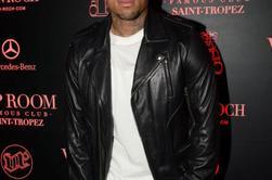 Chris au VIP Room de Saint-Tropez le 31 Juillet