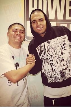 Chris chez Big Boy (Power 106 FM)