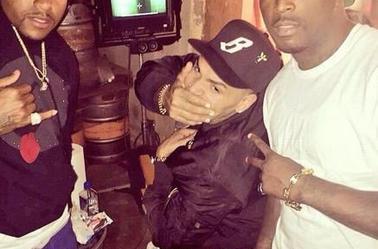 """Sur le tournage de """"Private Show"""" de T.I feat. Chris Brown"""