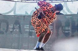 Photos : Chris Brown à Coachella