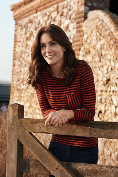 KATE MIDDLETON POUR VOGUE UK MAGAZINE