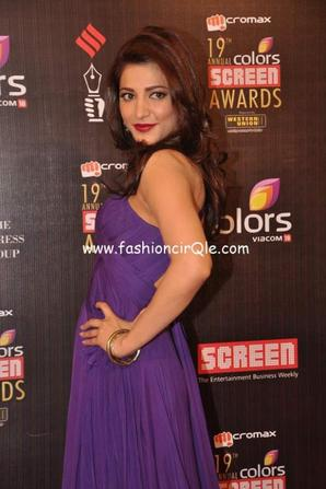 shruthi in Colors Screen Awards 2013