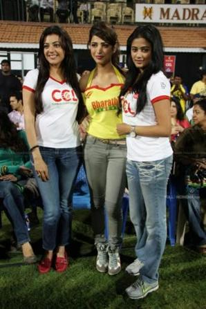 Shruti Hassan in  Match today
