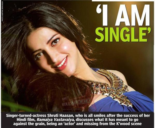 i'm single :p