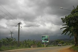 Autoroute du nord vers Yamoussoukro