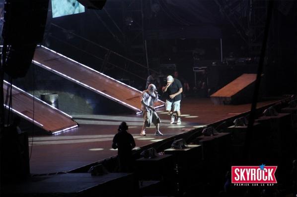 [ Photos ] • Eminem au Stade de France #EminemConcertSkyrock