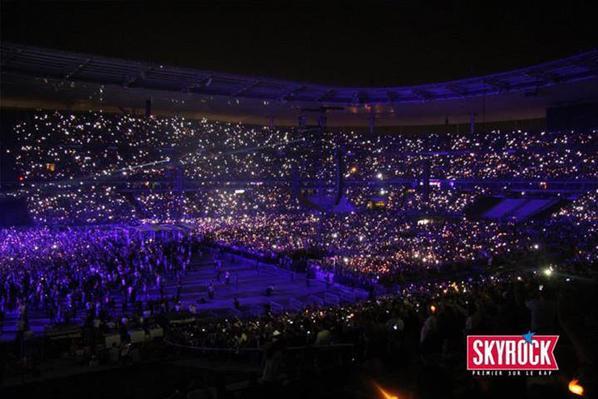 Eminem a enflammé le Stade De France