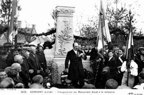 Rénovation du Monument aux Morts de Gémigny