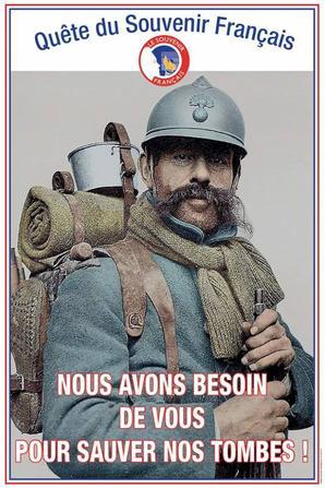 1er novembre 2018                                                                                                                                                                                                                              Quête nationale du Souvenir Français