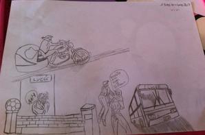 mes dessins fait ce matin