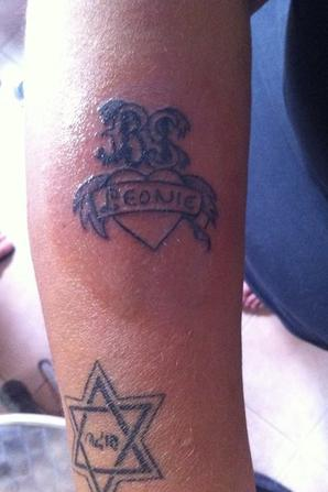 mon tatoo de ce matin