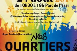 Centre Social Bourgogne Pont de Neuville 24 aout 2014