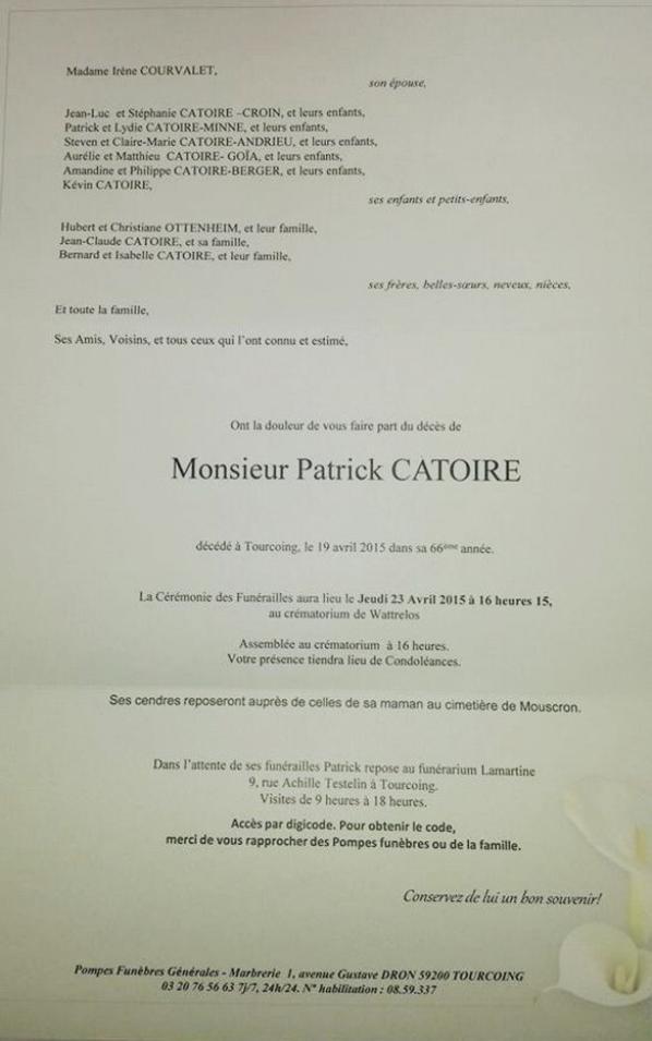 patrick catoire