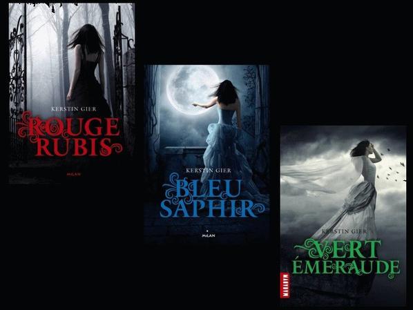La Trilogie des Gemmes de Kerstin Gier