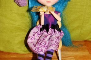 Photo avec ce que j'ai acheté a Jolie Doll ^^.
