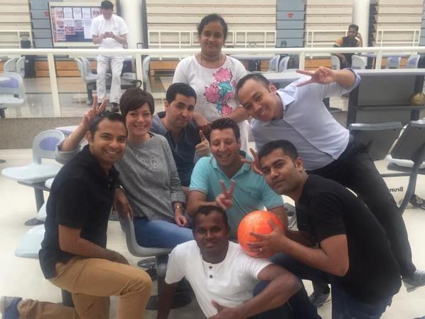 Bowling Abu Dhabi 2015