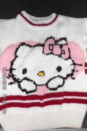 tricot hello kitty en 4 an