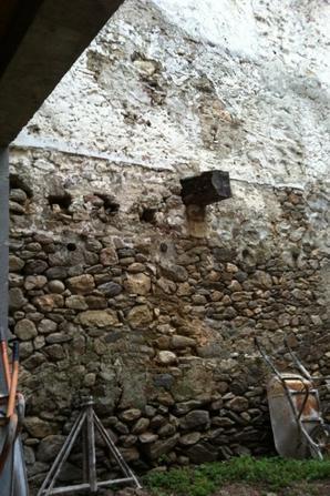 mur a rénover