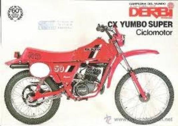 Un autre proto de 1987 mais en mob cross sur la meme base moteur