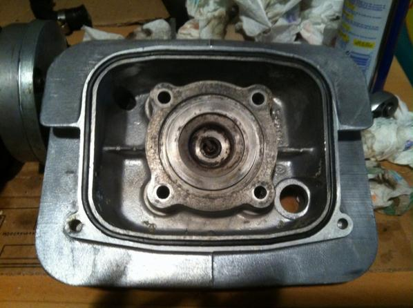 L'intérieur du moteur