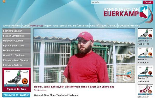 Boukili, Jamal Eddine,Safi (Testimonials Hans & Evert-Jan Eijerkamp)