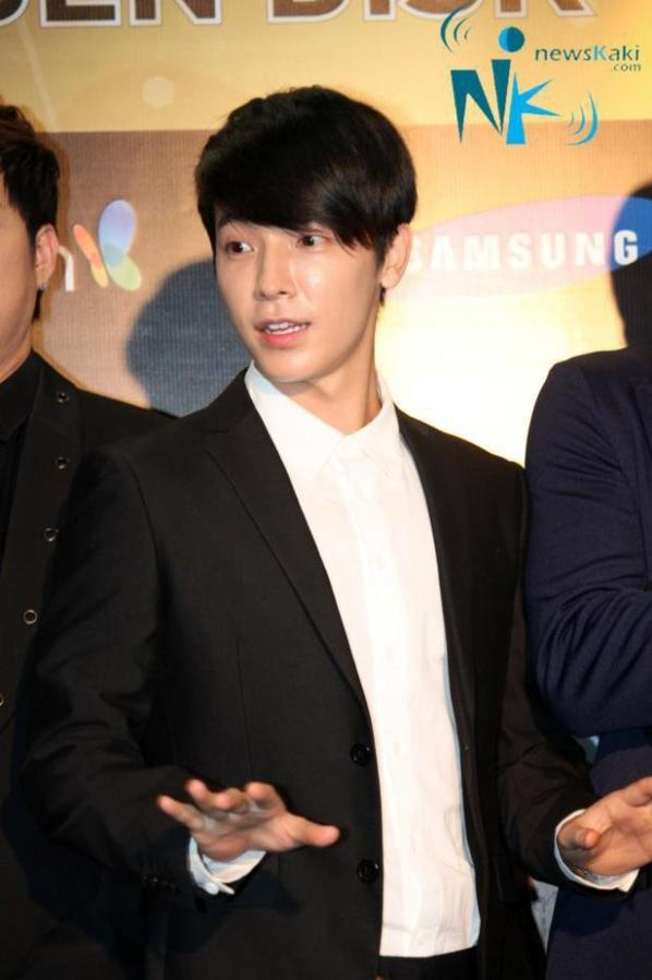 donghae at : The 27th Golden Disk Awards in Kuala Lumpur, Malaysia