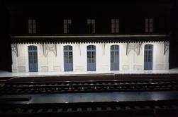Montage et pose de la gare avec eclairage marquise