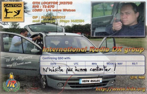 Qsl de collections de la team India Romeo (IR) Partie4