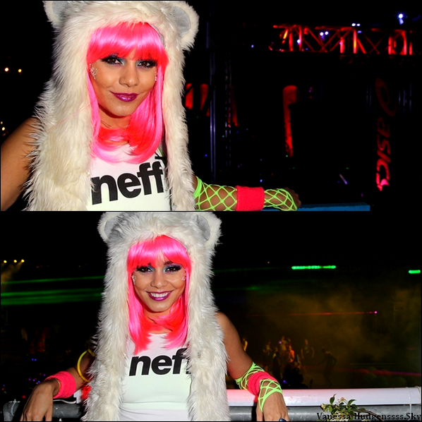 Vendredi 24 mai 2013 : Vanessa était au 2013 Electric Run à Los Angeles.