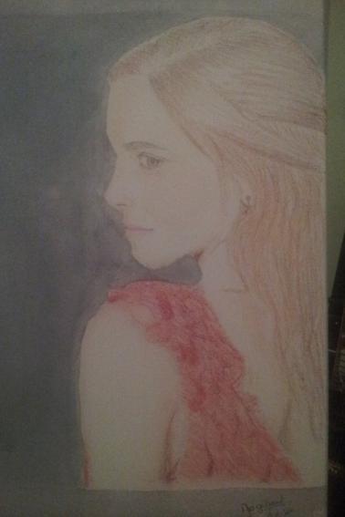 Emma Watson - pastel