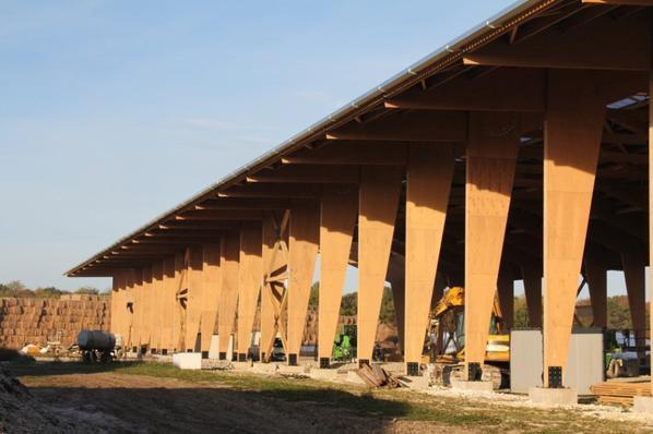 1 ère Mondiale Portiques en Lamibois de hêtre