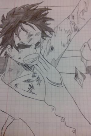 Dessins d'un ami #♥ [Pour les lovers de One Piece]