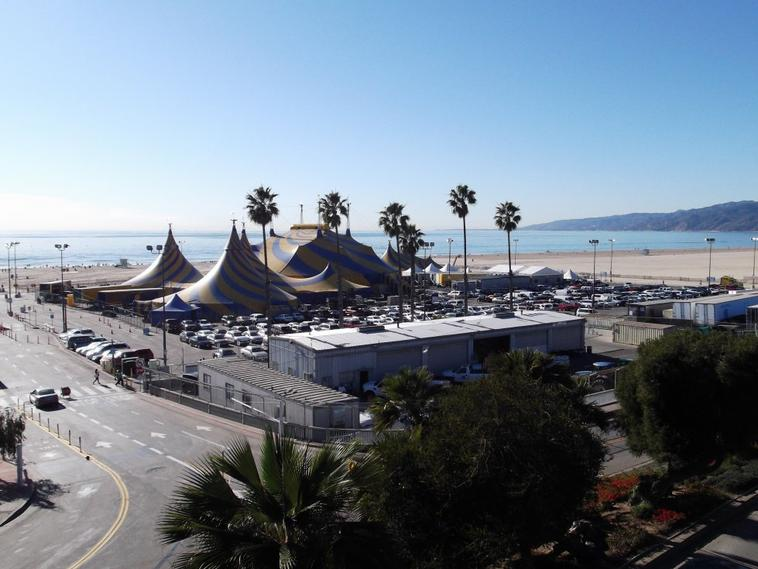 Santa Monica et Venice Beach a Los Angeles Californie