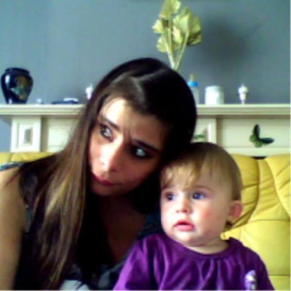 moi et ma princesse jtm mon bb